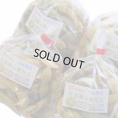 画像1: 熟成期 月末お届け 丹波篠山黒枝豆 鮮度保持袋入り「さや」のみ 1kg